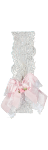 Piccola Speranza Girls Bow Head Band
